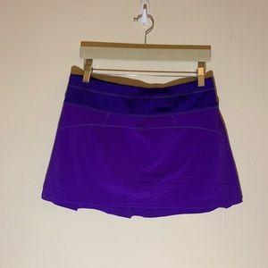 Athleta like New purple tennis skirt medium spring